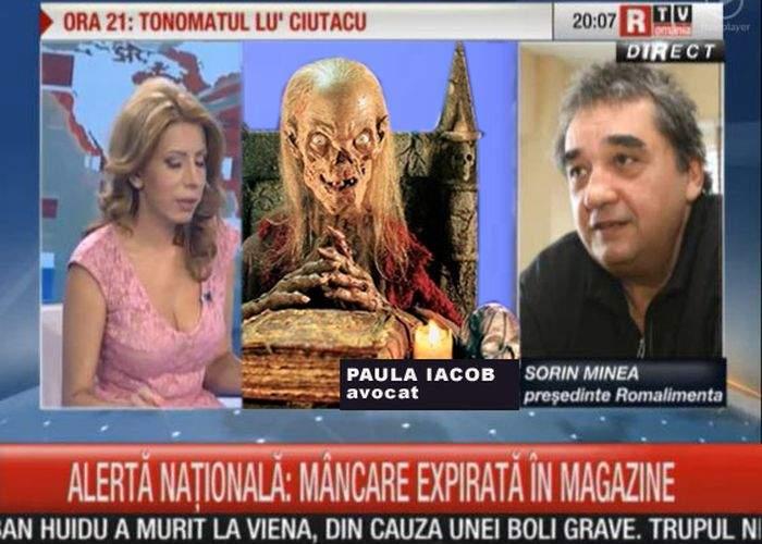 Paula Iacob conduce, din nou, topul cu persoanele decedate cu cele mai multe apariţii la TV