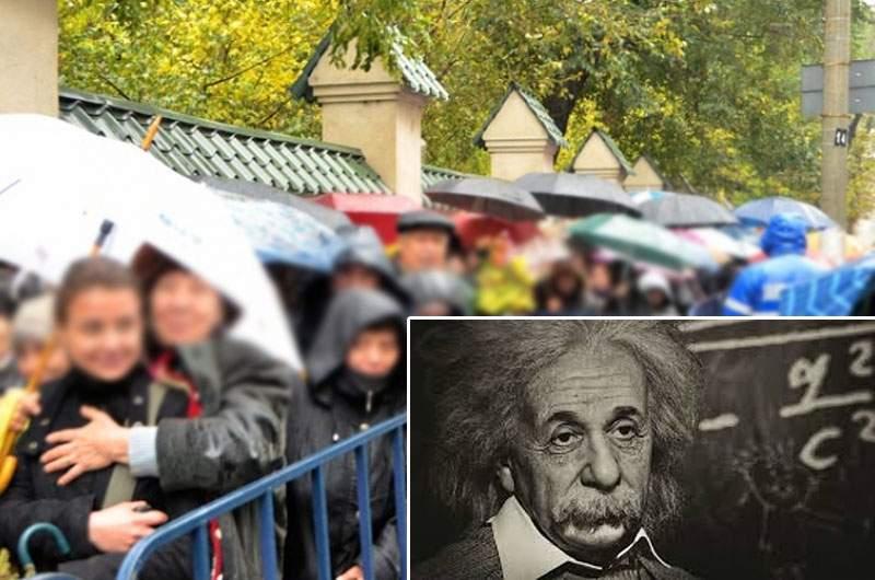 Mustaţa lui Einstein va fi adusă la Bucureşti, să aibă şi ateii un loc de pelerinaj