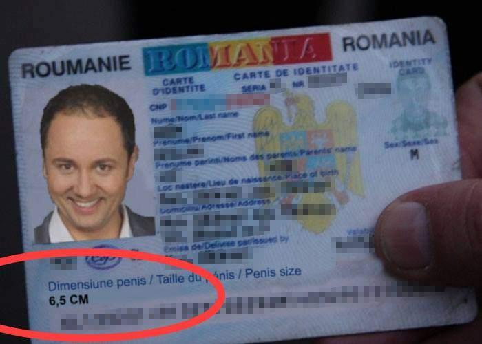 Ca să nu se mai laude aiurea, noile buletine ale românilor vor conţine şi dimensiunea penisului