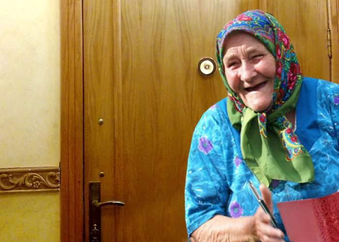 O pensionară și-a pus vizor cu infraroșii, să le ia temperatura vecinilor
