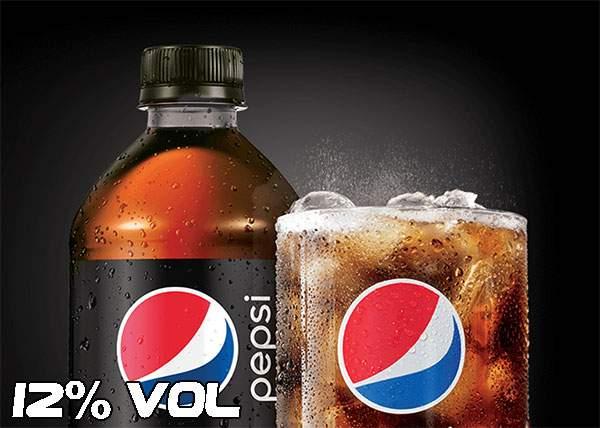 A apărut Pepsi cu alcool, pentru clienţii care nu se pot hotărî în faţa raftului cu vinuri spumante