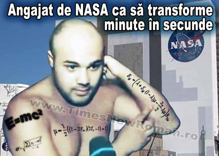 Perversul de pe Târgu Ocna, dorit de NASA pentru rapiditatea cu care face calcule matematice