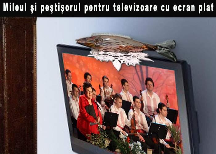 S-au lansat peştişorii şi mileurile plate, concepute special pentru televizoarele cu ecran plat