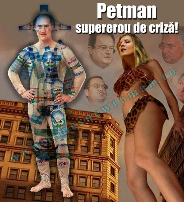 Petman, un supererou pentru vremuri de criza