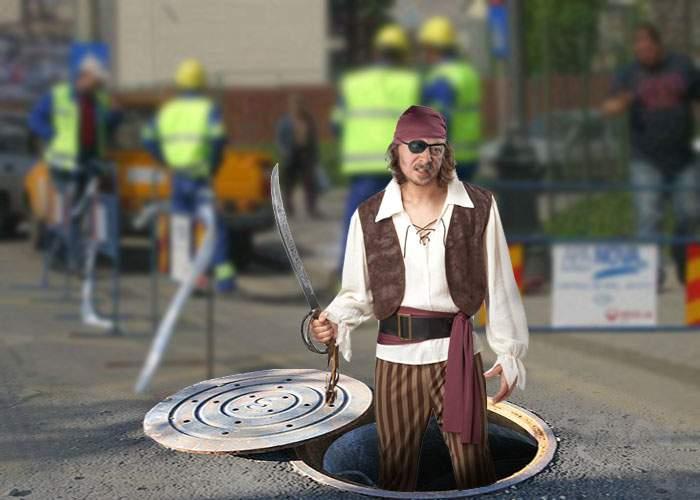 Întreruperile de apă, explicate: Apanova se confruntă cu problema piraţilor din canalizare