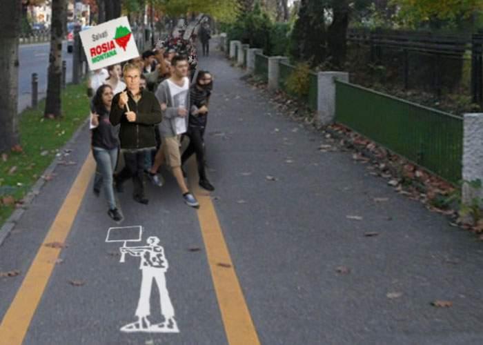Guvernul a cedat presiunii străzii! Se vor face piste speciale pentru protestatari!