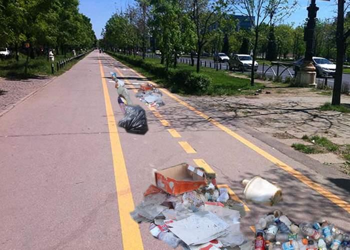 În sfârşit! Au fost lansate pistele de gunoieri, pentru românii care aruncă gunoaiele pe trotuar