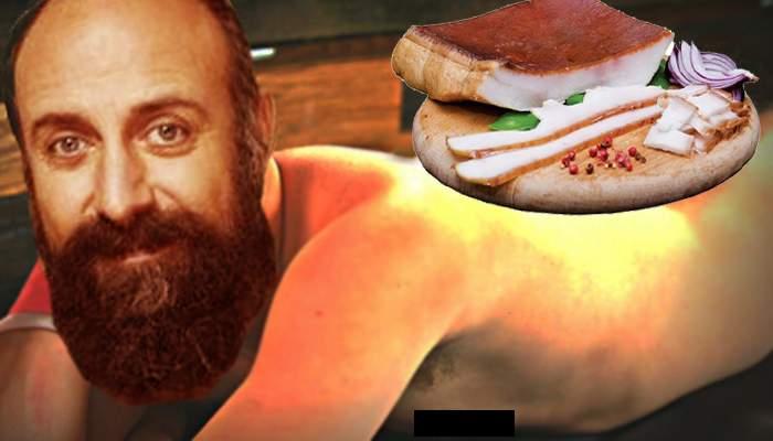 Ultima fiţă! În Dorobanţi a apărut un restaurant unde mănânci ceapă şi slană de pe un ardelean gol