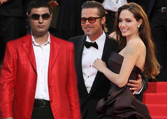 Angelina divorțează de Brad Pitt! Cristi Borcea spune că a fost doar o vizită conjugală și n-are de gând s-o ia de nevastă