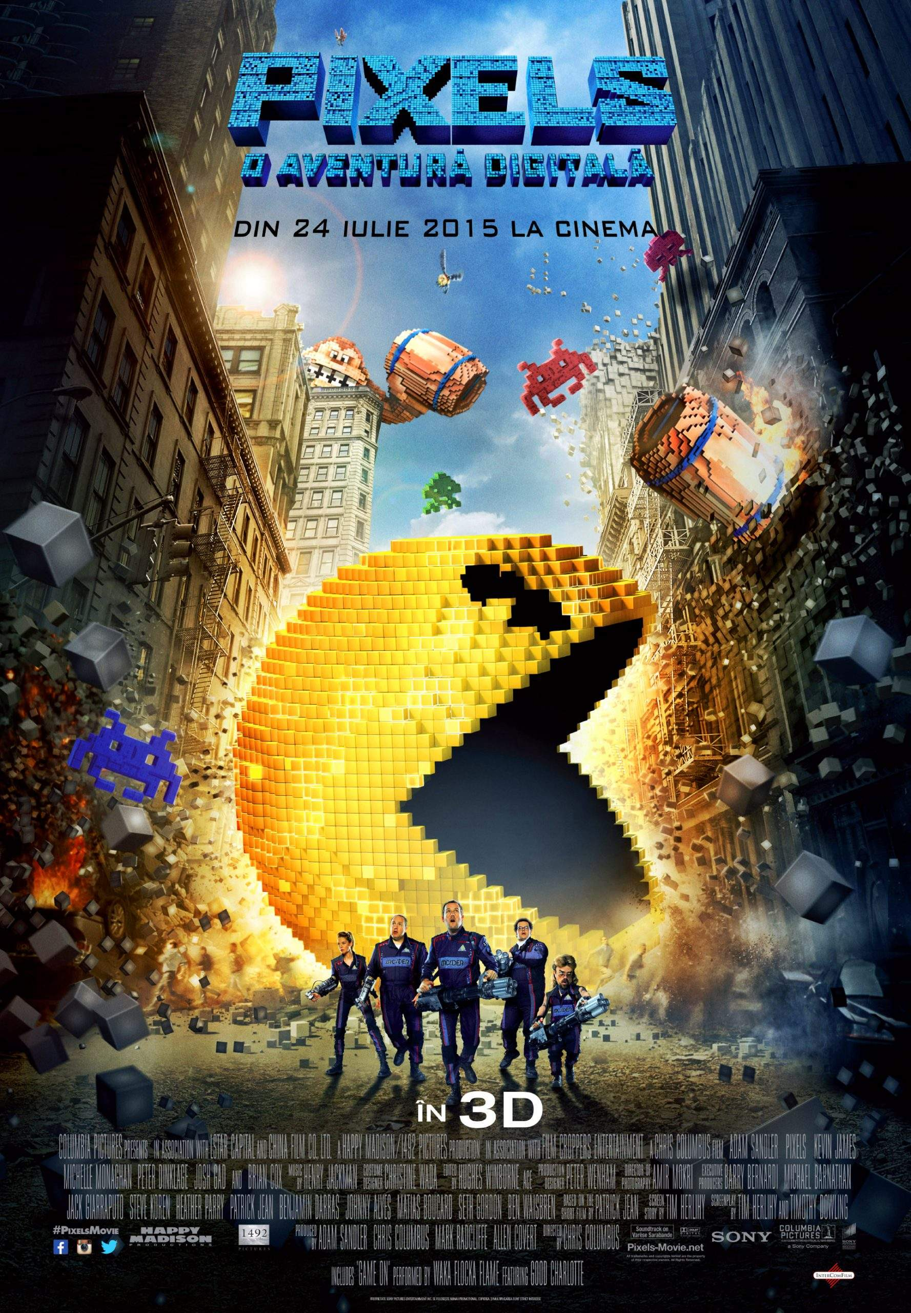 Pixels 3D (2015) – În pixeli să ne măsurăm, în Arcade să ne alintăm