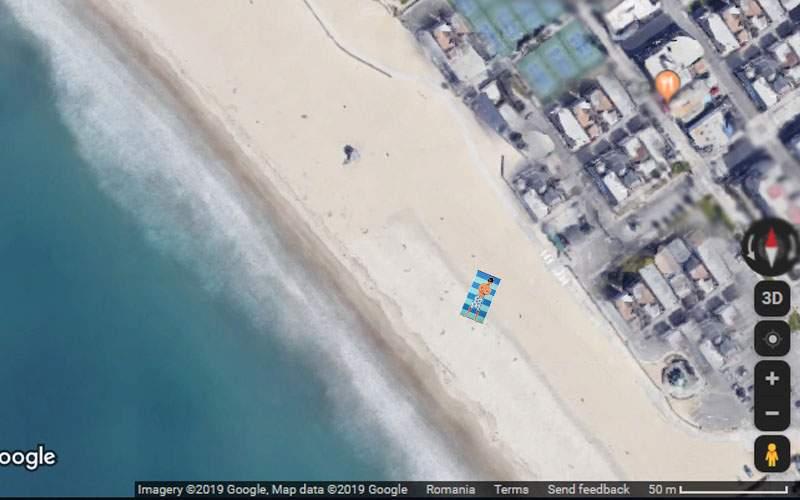 Un IT-ist n-are nevoie de selfie stick, că-şi face poze cu sateliţii Google Earth