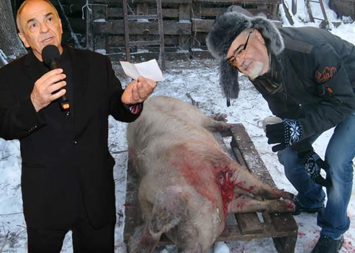 Intelectual! Liiceanu a tăiat porcul după ce l-a adormit cu câteva citate din Heidegger