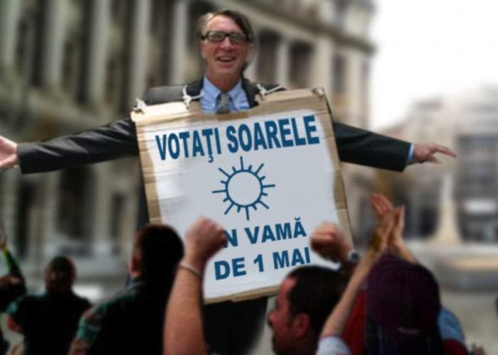 Viitorul președinte? Un politician promite vreme caldă și soare de 1 mai în Vamă
