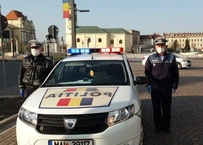Ce coronavirus? Poliţia din Cluj difuza oricum imnul zilnic, ca să alunge ungurii