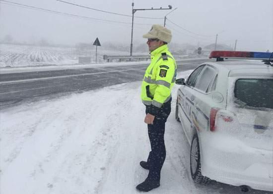 România e țara din UE cu cele mai puține autostrăzi blocate de zăpadă