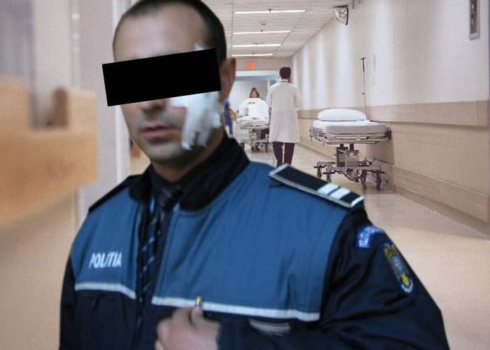 Poliţistul care i-a luat permisul lui Fuego, lovit cu poşetuţa de un bărbat, mare fan al artistului