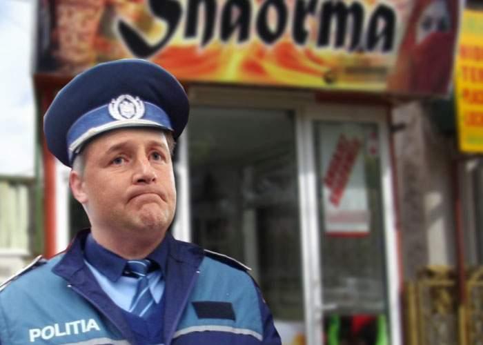 Dramatic! Un poliţist suferă de o boală rară, care-l face să nu mai poată mânca şaorma