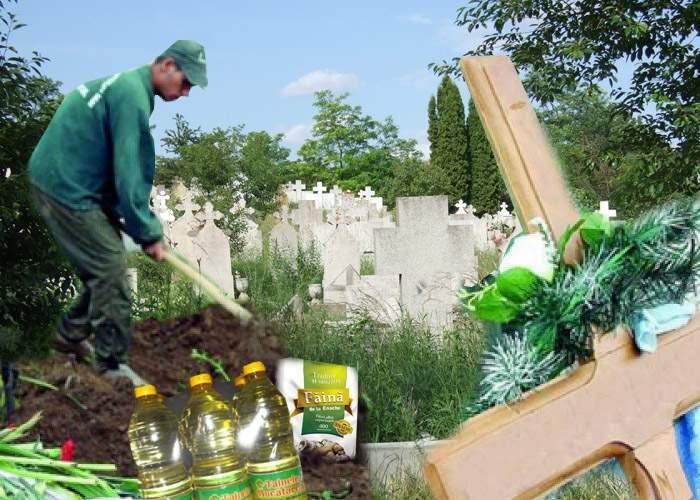 Mită electorală în Teleorman! Un candidat a îngropat ulei şi zahăr pentru alegătorii decedaţi