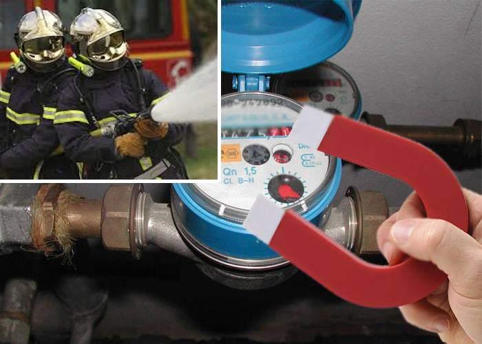 Ruşine, PSD! Pompierii sunt atât de subfinanţaţi încât trebuie să pună magneţi pe contorul de apă
