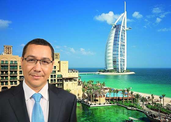 """Ponta nu e îngrijorat de defrișări. """"Ăia în Dubai nu au nici o pădure și uite ce bine o duc"""""""