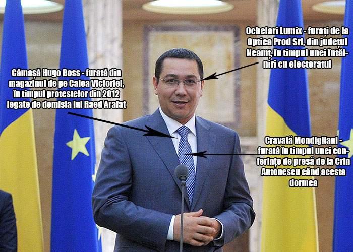 Lifestyle: De unde se îmbracă premierul Victor Ponta