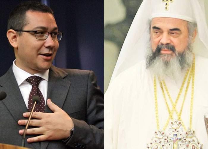 """Patriarhul a bătut palma cu Victor Ponta: în loc de Amin în biserici se va spune """"Votați Ponta"""""""