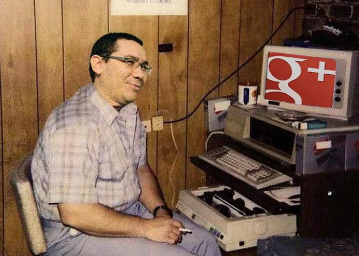 Încă o gafă monumentală a lui Ponta: a angajat postaci pentru Google Plus!
