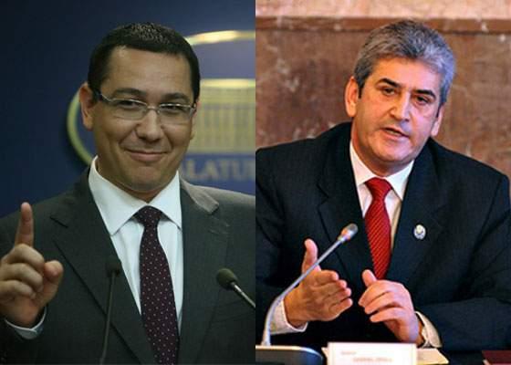 Incredibil cât de mincinos e! Gabriel Oprea e premier de 3 ani, dar Ponta minte că ar fi el!