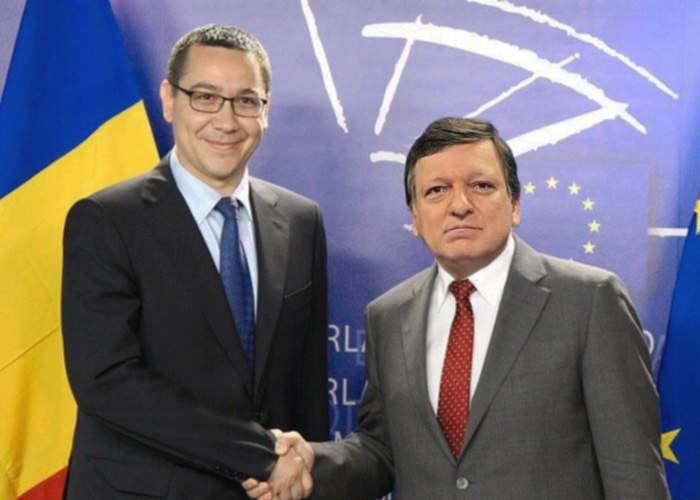 Uluitor! Victor Ponta a fost băgat în seamă de José Manuel Barroso la Bruxelles