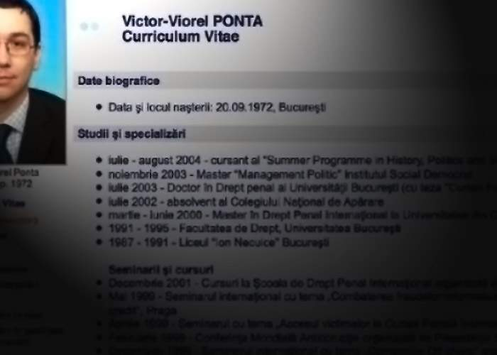 Scandalul continuă! Victor Ponta şi-ar fi trecut în CV testamentul lui Sergiu Nicolaescu