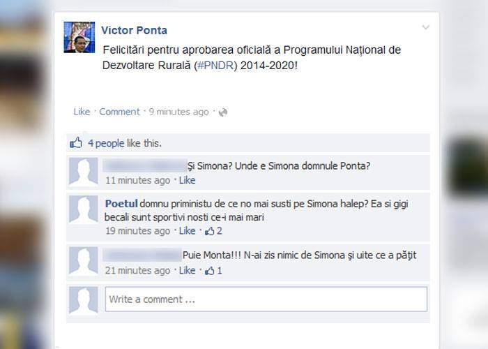 Se vede că nu o mai susține Ponta pe Facebook! Halep a pierdut rușinos în turul doi la Roland Garros