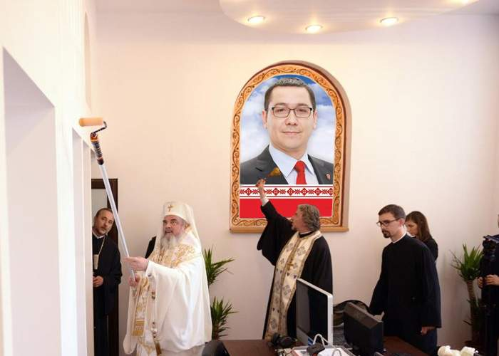 Patriarhul Daniel intră în campanie! În locul icoanelor, în biserici vor fi afişe cu candidaţii