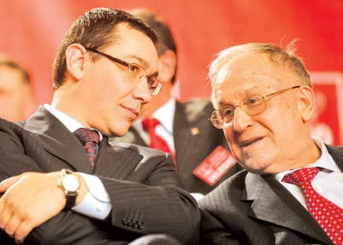 """Iliescu îl îmbărbătează pe Ponta: """"Mie de 26 de ani mi se urează să crăp şi uite ce bine mă simt"""""""