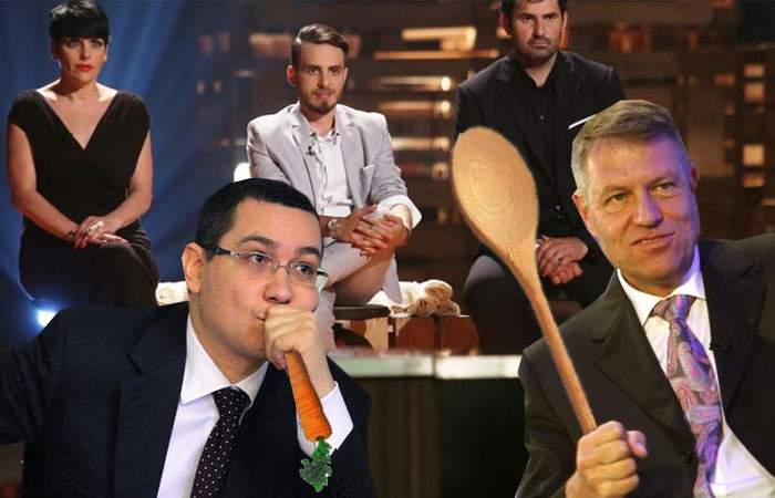 Următoarea dezbatere între candidați va avea loc la MasterChef, unde chiar e audiență