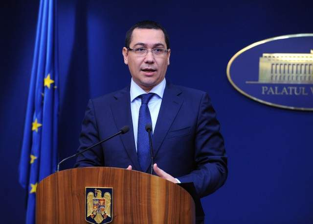 """Ponta dă vina pe """"greaua moştenire"""" primită: """"Guvernul Ponta I a lăsat ţara în haos!"""""""