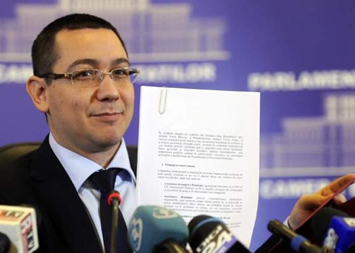 Pentru că Gabi Oprea n-are destulă imaginaţie, Ponta i-a lăsat o listă cu minciuni cât e în concediu