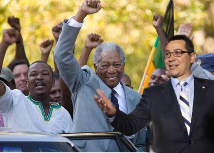 Victor Ponta şi-a trecut în CV şi lupta împotriva apartheidului