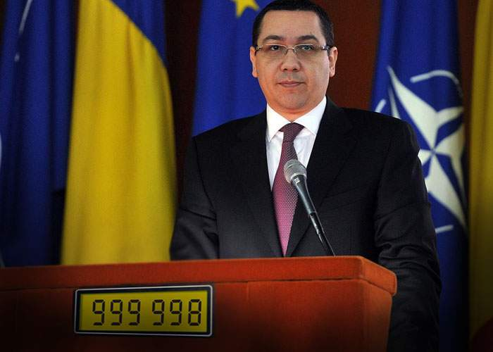 Aniversare la Guvern! Victor Ponta a rostit astăzi minciuna cu numărul 1 milion de când e premier