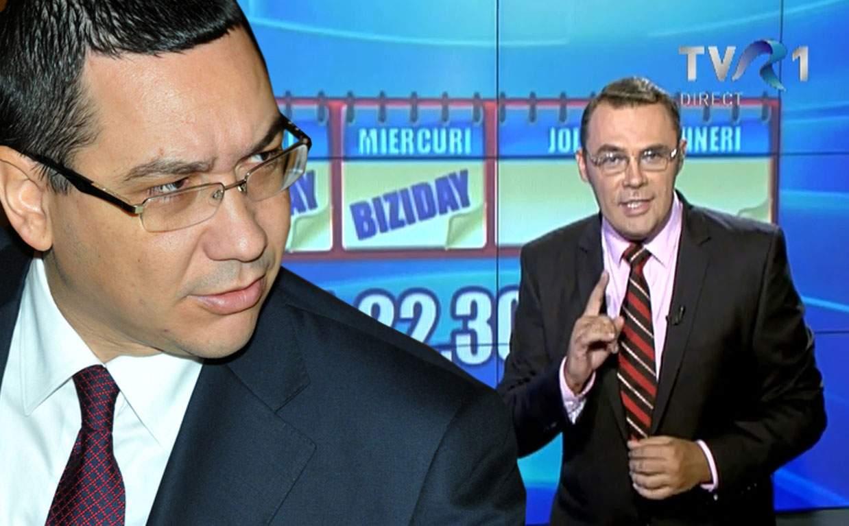 Ponta vrea să-l dea afară pe Moise Guran de pe Internet, ca să nu mai scrie că subminează economia