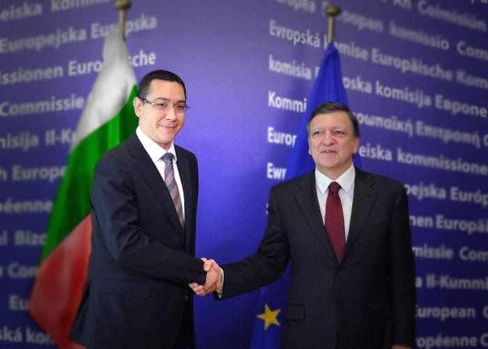 Ca să fie primit de Barroso, Ponta a pretins că este premierul Bulgariei