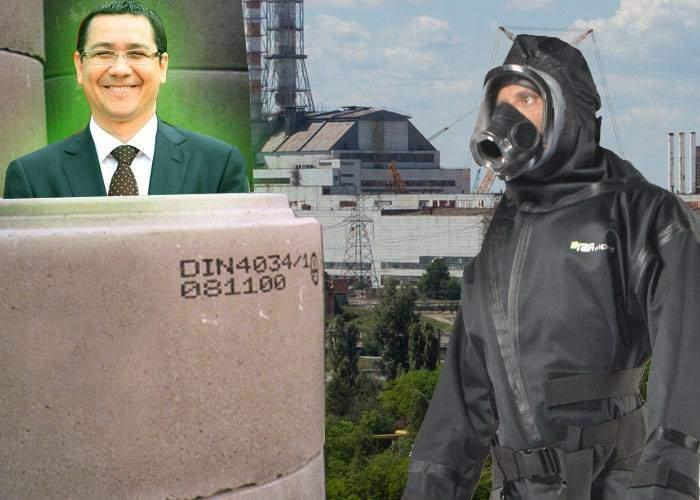 Experţii de la Cernobîl ne dau sfaturi pentru dezastrul Ponta: Acoperiţi-l cu un sarcofag de beton!