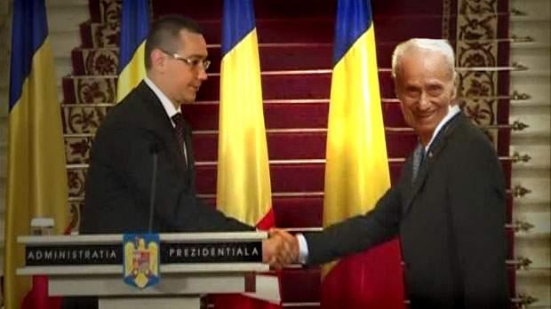 Vişinescu se pregăteşte să devină premier, după ce-a anunţat că-l susţine pe Ponta pentru turul doi