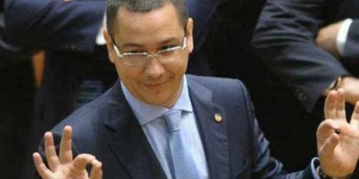 Premierul Victor Ponta, pregătit să-l înfrunte în turul 2 pe parlamentarul Victor Ponta