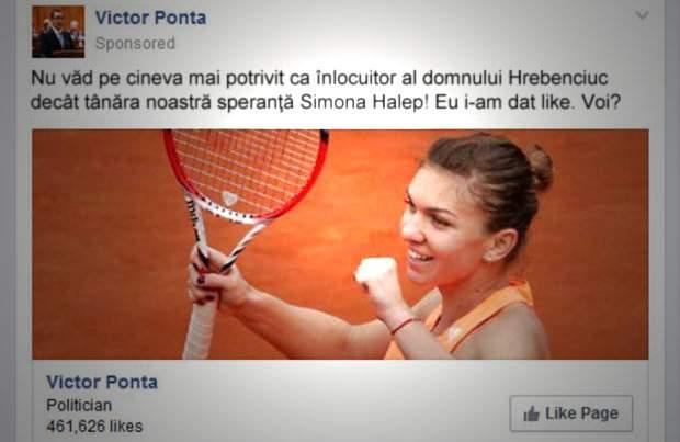 PSD încearcă să dreagă busuiocul! Simona Halep, invitată să-l înlocuiască pe Hrebenciuc în Parlament