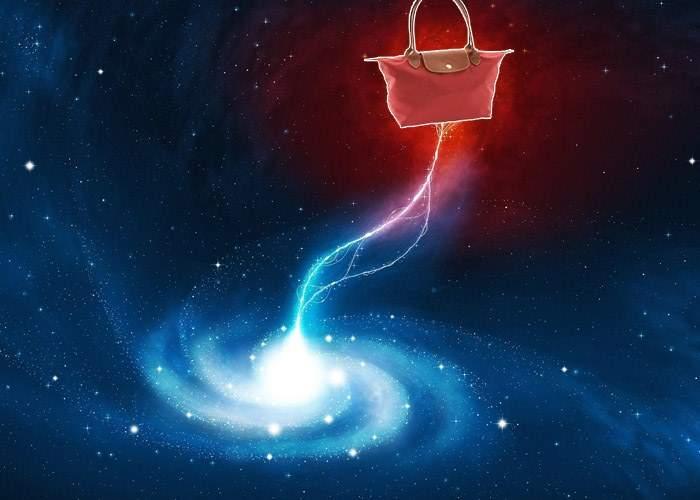 Fabulos! O poșetă trimisă de savanții NASA în spațiu a absorbit o gaură neagră
