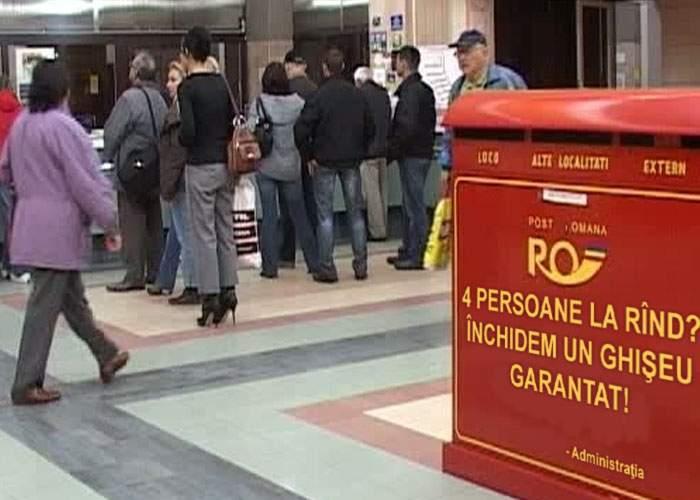 Noroc chior! Un român a prins la poștă o zi fără cozi și nu a așteptat decât 2 ore