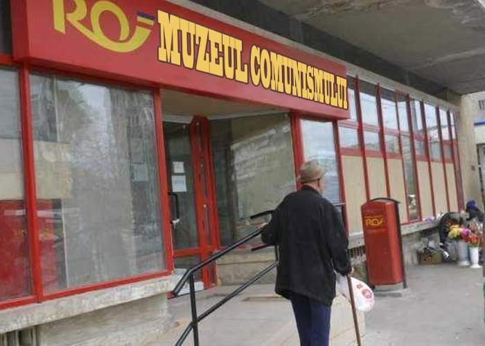 Poşta Română va percepe o taxă de intrare de 5 lei. Va funcţiona şi ca muzeu al comunismului