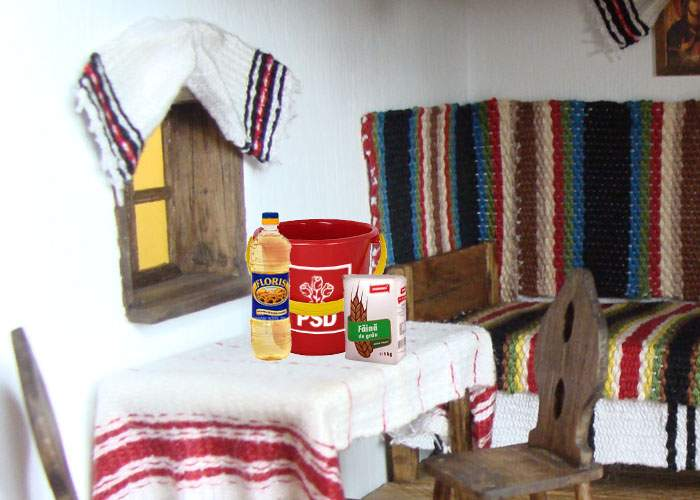 Intrăm în postul alegerilor! Timp de o lună, românii mănâncă doar ulei, făină şi găleţi