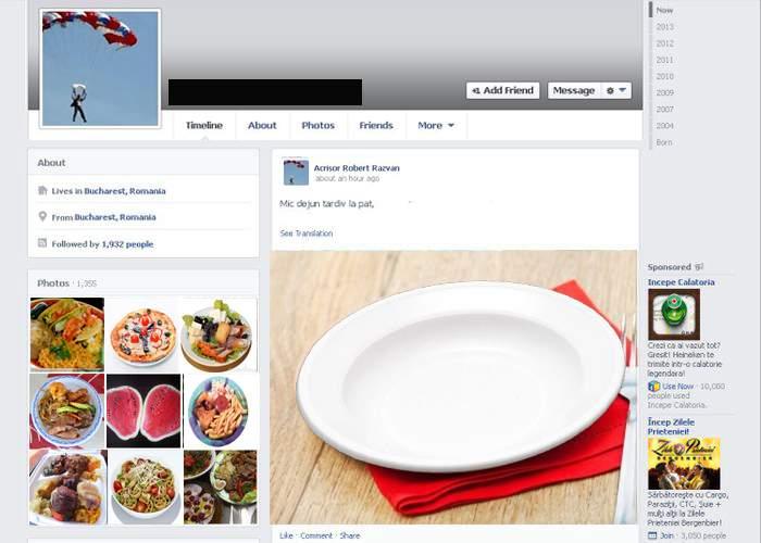 Românii o duc tot mai greu! În loc de poze cu mâncare, acum pun pe Facebook poze cu farfurii goale