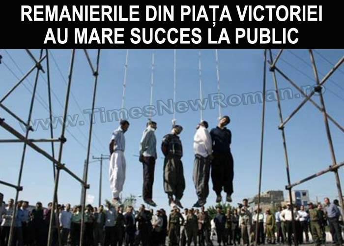 Miniștrii demiși au fost torturați și executați în Piața Victoriei